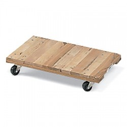 Akro-Mils / Myers Industries - RD3018F3P - Dolly Flush Deck 18 Wx30 L 900 Pound Akro Miks Wood, Ea