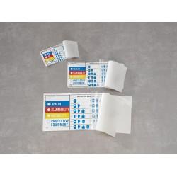 Electromark - Y604387 - HMIG Label, 2 In. H, 3-1/2 In. W, PK25
