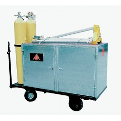 Air Systems - CSC-3072 - Air Systems International 30 X 72 X 48 Galvanized Steel Confined Space Entry Cart For Supplied Air Respirator, ( Each )