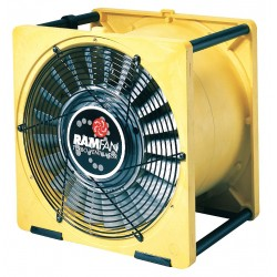 Euramco Safety - EFI50 - Conf.Sp. Fan, Axial, 16 In, 1/2 HP, 115V