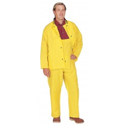 Tingley Rubber - J21207 - FR Rain Jacket with Hood, Yellow, L