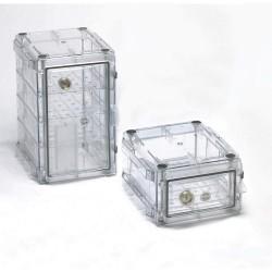 Bel-Art - 420710000 - Secador 1.0 Desiccator Horizontal Clear