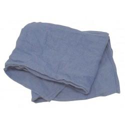 Hospeco - 539-25 - Blue Cotton Huck Towels, 25 lb. Box, 200PK
