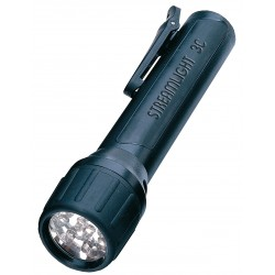 Streamlight - 62302 - Flashlight Propolymer Light-emitting Diode Black 3n- Polymer 120 Hour Streamlight Inc., Ea