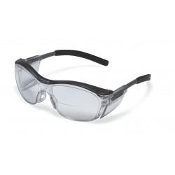 AO Safety - 11435-00000-20 - Nuvo Translucent Gray Frame Clr Lens +2.00 Diopt