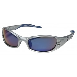 3M - 11641-00000-10 - Eyewear Fuel Silver Frame Blue Mirror Lens Ansi Z87.1-2003 High Impact Csa Z94.3 Aosafety Aearo Co., Ea
