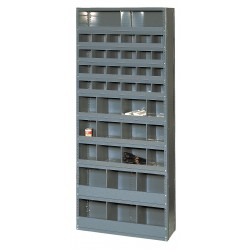 Edsal - 231512N - Pigeonhole Bin Unit, Gray