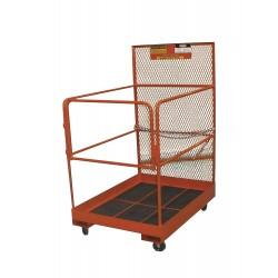 Ballymore / Garlin - FD-O-C-KD - Garlin Maintenance Platform Knock Down 36x36 Steel Orange, Ea