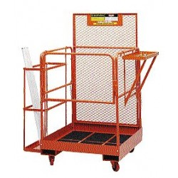 "Ballymore / Garlin - FD BULB CADDY - Fluorescent Tube Caddy, 46"" Overall Height, 30"" Overall Width, 7"" Overall Length"