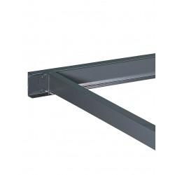 Edsal - RL2434 - 48 Steel Center Support, Gray; PK6