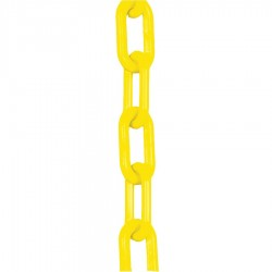 Mr. Chain - 00002-50 - Plastic Chain, 3/4 In x 50 ft, Yellow