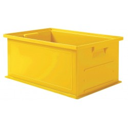 SSI Schaefer - 1462.191308YL1 - Straight Wall Container, Yellow, 8H x 19L x 13W, 1EA
