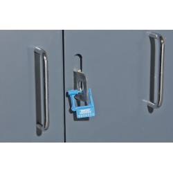 Brooks Equipment - 1054980 - Padlock Seals, Polypropylene, Blue, 25/32