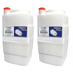 Atrix - 31700-2P - Standard Toner and Dust Filter Cartridge for Mfr. No. VACOMEGA, VACOMEGASLFH, VACOMEGAS, VACOMEGAH,