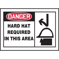 Accuform Signs - LPPE005VSP - Safety Label, 3-1/2 In. H, 5 In. W, PK5