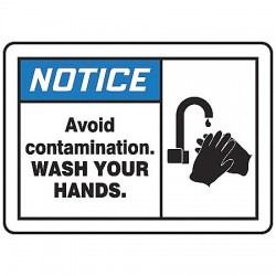 Accuform Signs - LRST801VSP - Safety Label, 5 In. W, 3-1/2 In. H, PK5