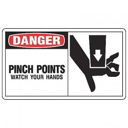 Accuform Signs - LEQM017VSP - Safety Label, Information, 3-1/2 In. H, PK5