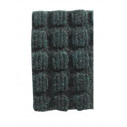 Apache Mills - 78-880-1506-40001800 - Blue Dual Fiber Carpet, Entrance Runner, 4 ft. Width, 18 ft. Length