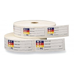 Harris - LB131852 - HMIG Label, 1-1/2 In. H, 3-7/8 In.W, PK1000