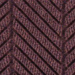 Andersen Company - 2271 BURGUNDY 12X12 - Maroon Recycled PET Polyester Fiber, Entrance Mat, 12 ft. Width, 12 ft. Length