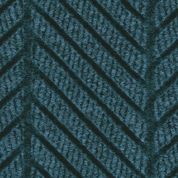 Andersen Company - 2271 BLUE 6X67 - Blue Recycled PET Polyester Fiber, Entrance Runner, 6 ft. Width, 67 ft. Length
