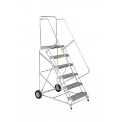 Ballymore / Garlin - ALWB-930G - Aluminum Wheelbarrow Ladder 9 Step 24 In Grip-strut-tread 300lb Capacity, Ea