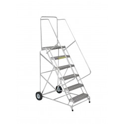 Ballymore / Garlin - ALWB-630G - Aluminum Wheelbarrow Ladder 6 Step 24 In Grip-strut-tread 300lb Capacity, Ea