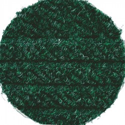 Andersen Company - 2240172316 - Green Recycled PET Polyester Fiber, Entrance Runner, 3 ft. Width, 16 ft. Length