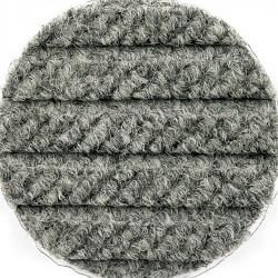 Andersen Company - 2240173412 - Gray PET Polyester Fiber, Entrance Runner, 4 ft. Width, 12 ft. Length