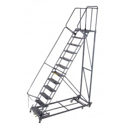Ballymore / Garlin - ML123221G - Safety Rolling Ladder, Steel, 120 In.H