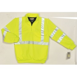 Other - UPA542 LIME 4X - Hi-Viz Sweatshirt, Lime, Polyamide, 4XL