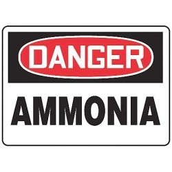 Accuform Signs - MCHL110VS - Danger Sign, 10 x 14In, R and BK/WHT, AMNA