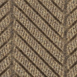 Andersen Company - 2271 TAN 8X16 - Khaki Recycled PET Polyester Fiber, Entrance Runner, 8 ft. Width, 16 ft. Length