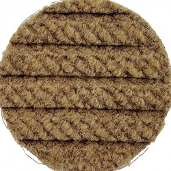 Andersen Company - 2240176412 - Brown PET Polyester Fiber, Entrance Runner, 4 ft. Width, 12 ft. Length
