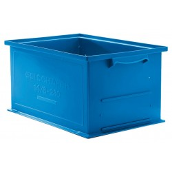 SSI Schaefer - 1462.191305BL1 - Straight Wall Container, Blue, 5H x 19L x 13W, 1EA