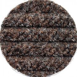 Andersen Company - 2240175612 - Brown PET Polyester Fiber, Entrance Runner, 6 ft. Width, 12 ft. Length