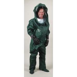 Lakeland - 95493-XL - Level A Front-Entry Encapsulated Training Suit, Size XL, Nylon/PVC
