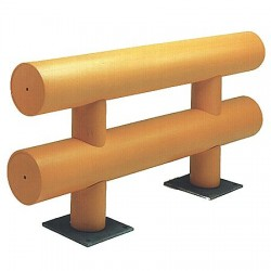 Ideal Shield - HGR-2-144-36-P - Guard Rail System, Length 12 ft x 36 In