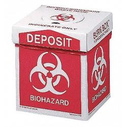 Other - 17-789 - Biohazard Burn Box, 12 In. H, 8 In. W, PK6