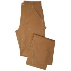 Carhartt - B01 BRN 31 30 - Work Dungaree, Cotton Duck, Color: Brown, Fits Waist Size: 31 x 30
