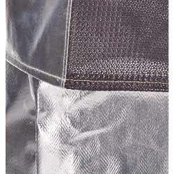 Gaskets - 706ACKCNL - 30 Carbon Kevlar Aluminized Jacket, Fits Chest Size 42 to 44, L