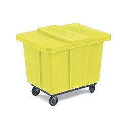 Bayhead - UT-10 YELLOW - Truck Box Yellow 10 Bshl 31 Hx29 1/4 Wx36 1/4 L 600 Polyethylene Bayhead Products, Ea