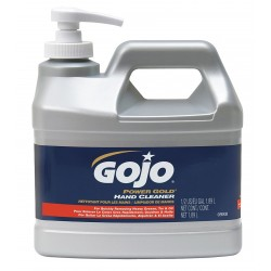 Gojo - 0988-04 - Citrus Silica, Walnut Shell Powder Hand Cleaner, 1/2 gal. Pump Bottle, 1EA