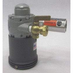 Sethco / Met-Pro - 384-B40CG-VV - Drum Pump Motor, Dbl Insulated Electric