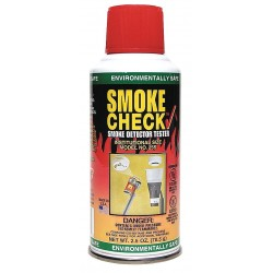 Other - 25S - Smoke Detector Tester, 2.5 oz. Aerosol; For Use With Residential or Commercial Detectors; Provides F