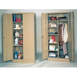 Edsal - 7004TN - Combination Storage Cabinet, 72x36, Beige