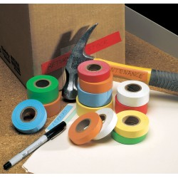 Roll Products - 48858Y - Masking Tape, 14 yd. x 1/2, Yellow, 6.00 mil