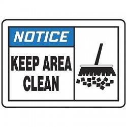 Accuform Signs - LHSK801VSP - Safety Label, Instruction, 3-1/2 In. H, PK5