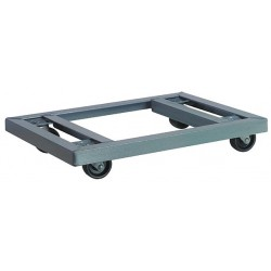 Akro-Mils / Myers Industries - RD853HR1824 - 24L x 18W x 4-3/8H Gray General Purpose Dolly, 900 lb. Load Capacity