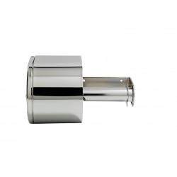 San Jamar - R1500XCGR - Toilet Tissue Dispenser, Horiz/Vert, Steel